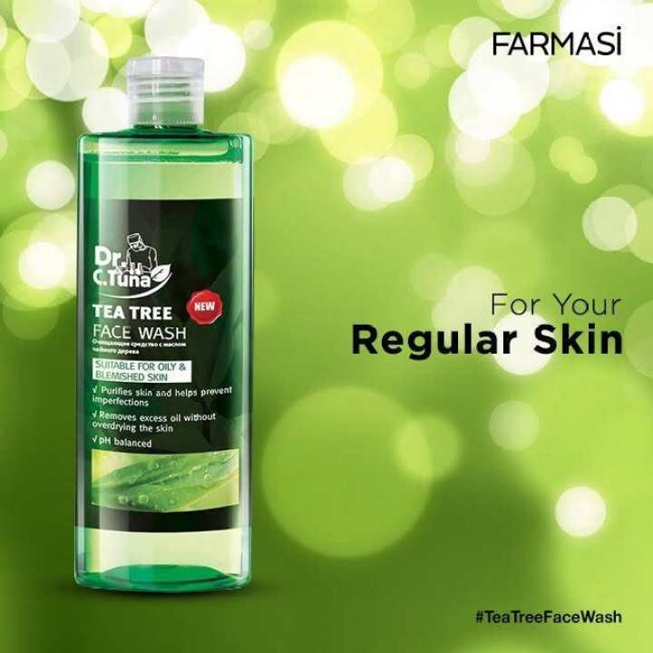 Farmasi Dr C Tuna Tea Tree Face Wash Bazarfx